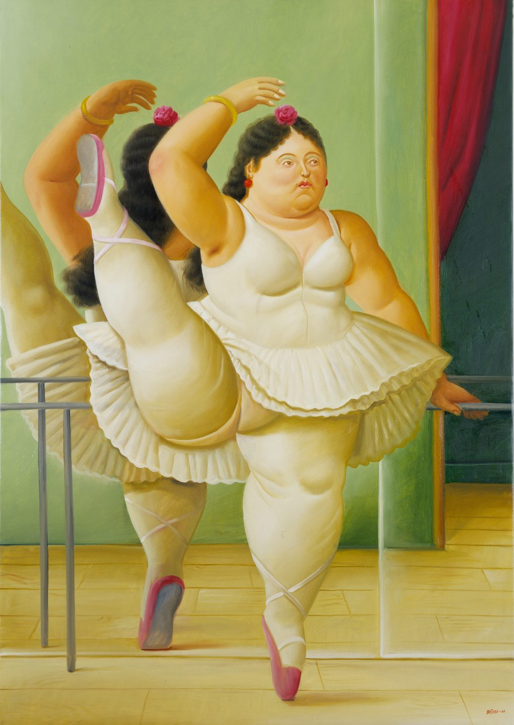 Dancer by Fernando Botero