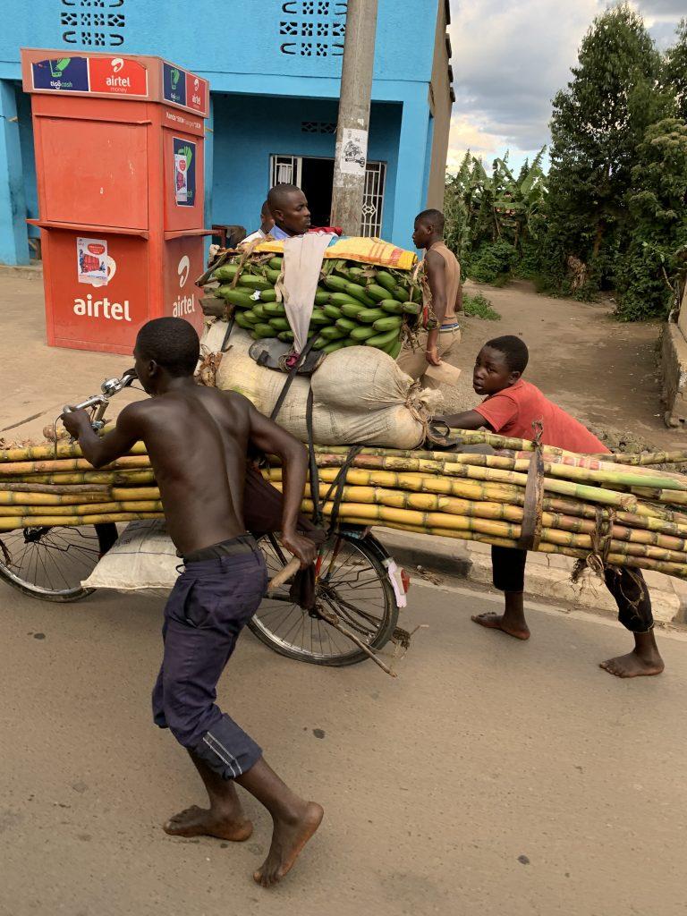Teenage boys in Rwanda
