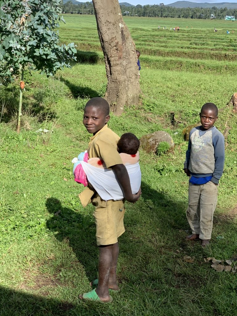 Rwandan children and families