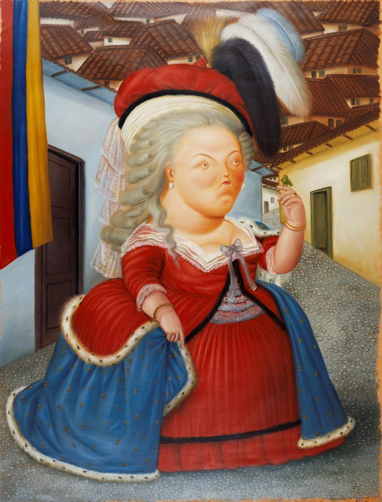 Botero Marie Antoinette