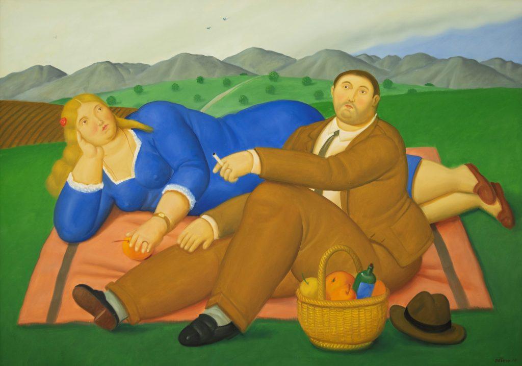Fernando Botero Picnic