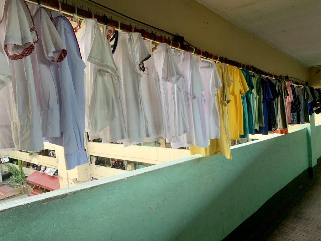 Freshly washed Laundry Santa Ana, Manila