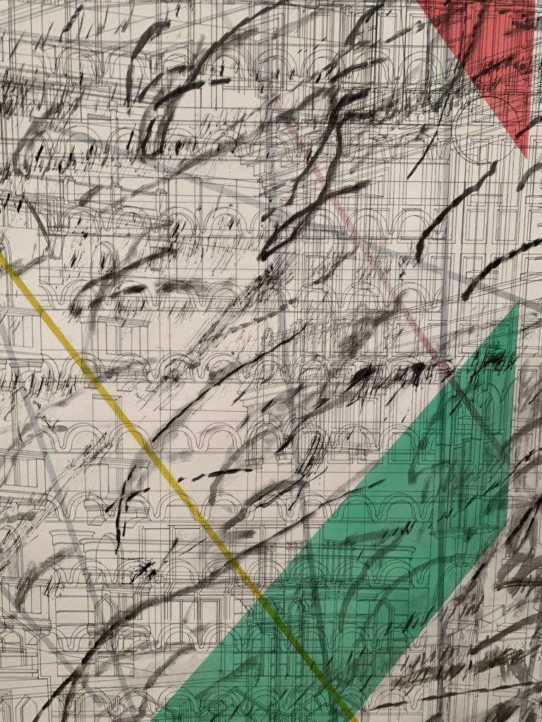 Julie Mehretu detail of Mogamma