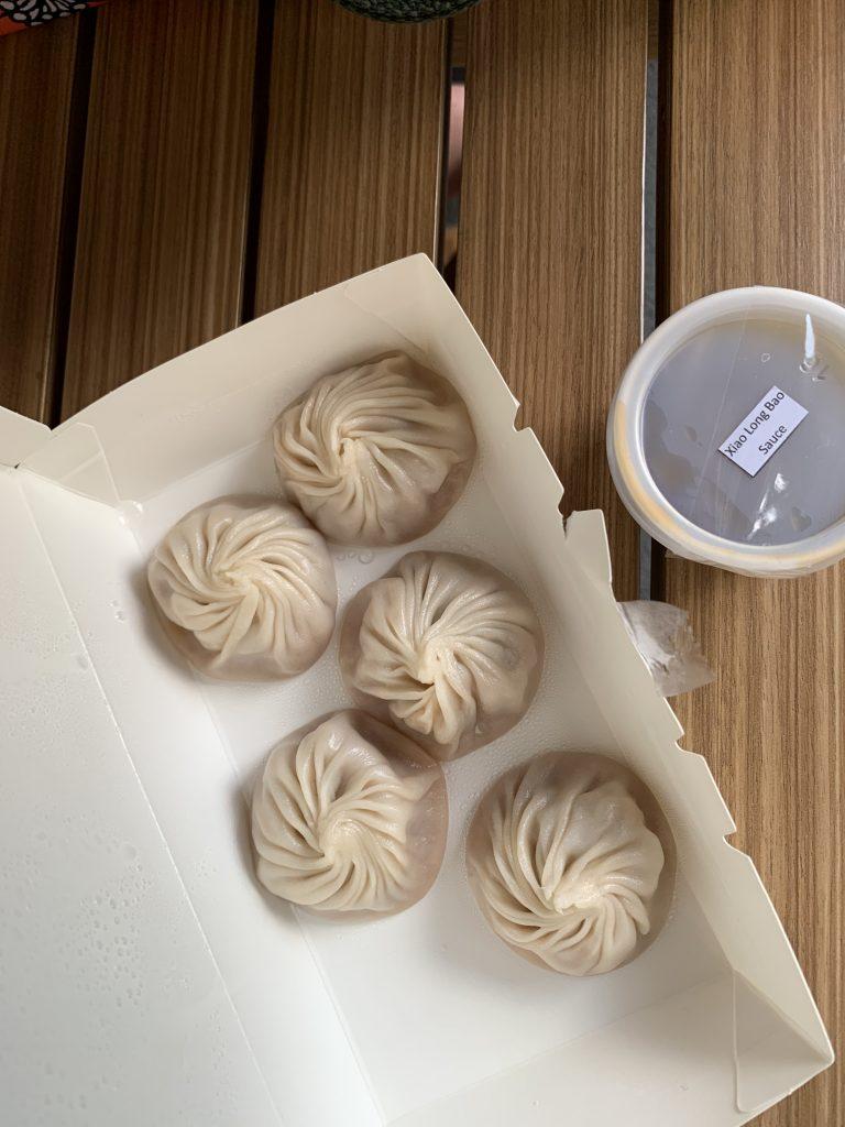Delicious Din Tai Fung dumplings