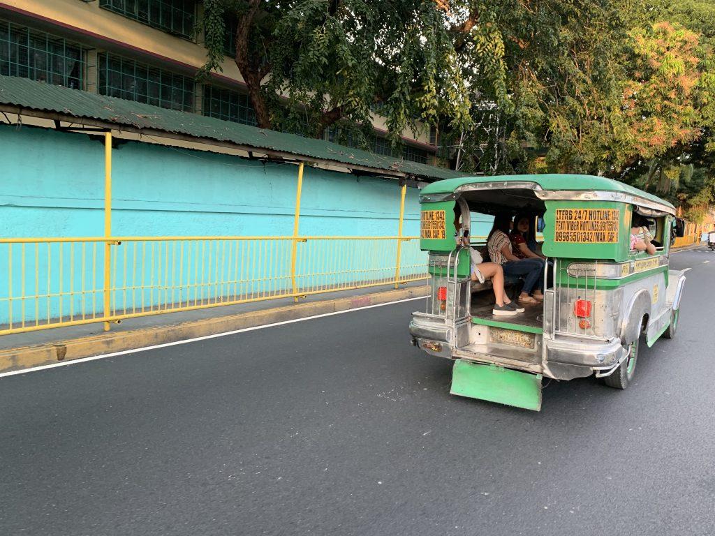 Jeepney Manila Santa Ana, the Philippines
