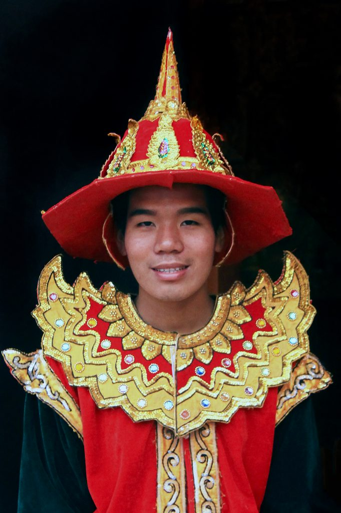 Burmese traditional costume -  Myanmar