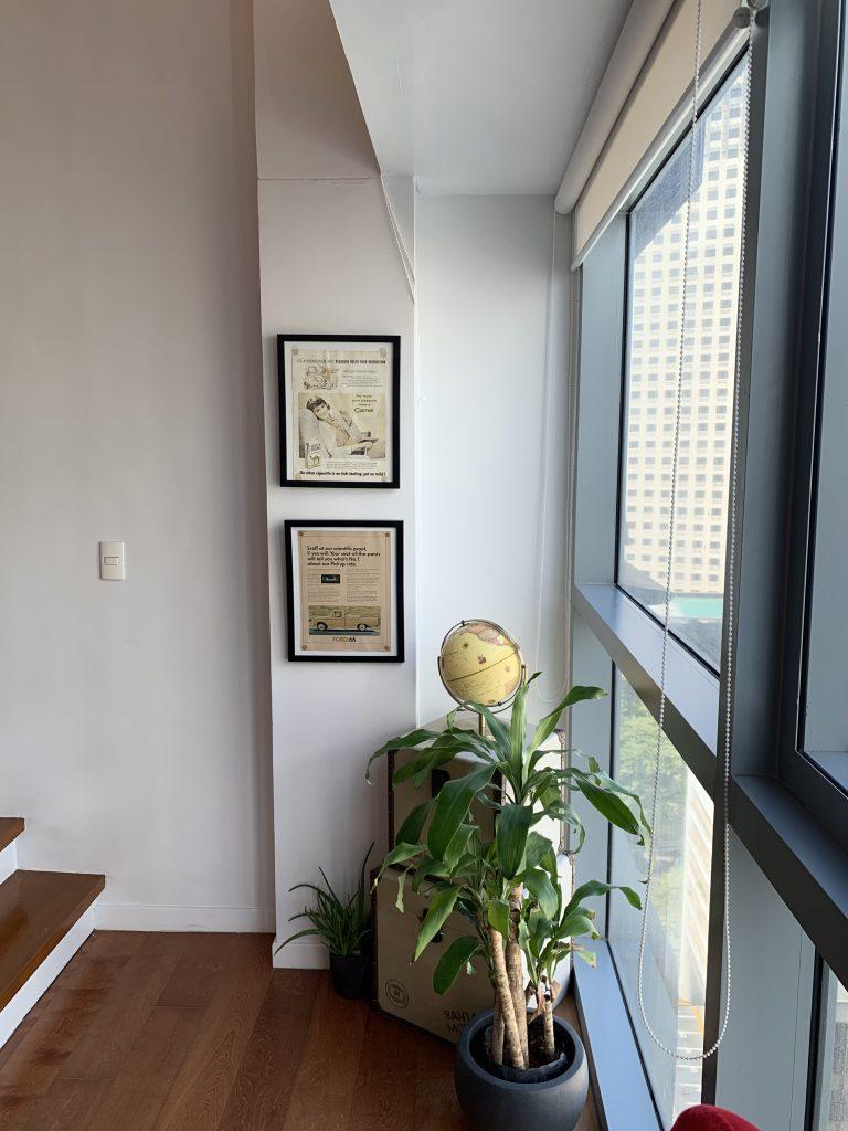 Stylish décor in loft Manila