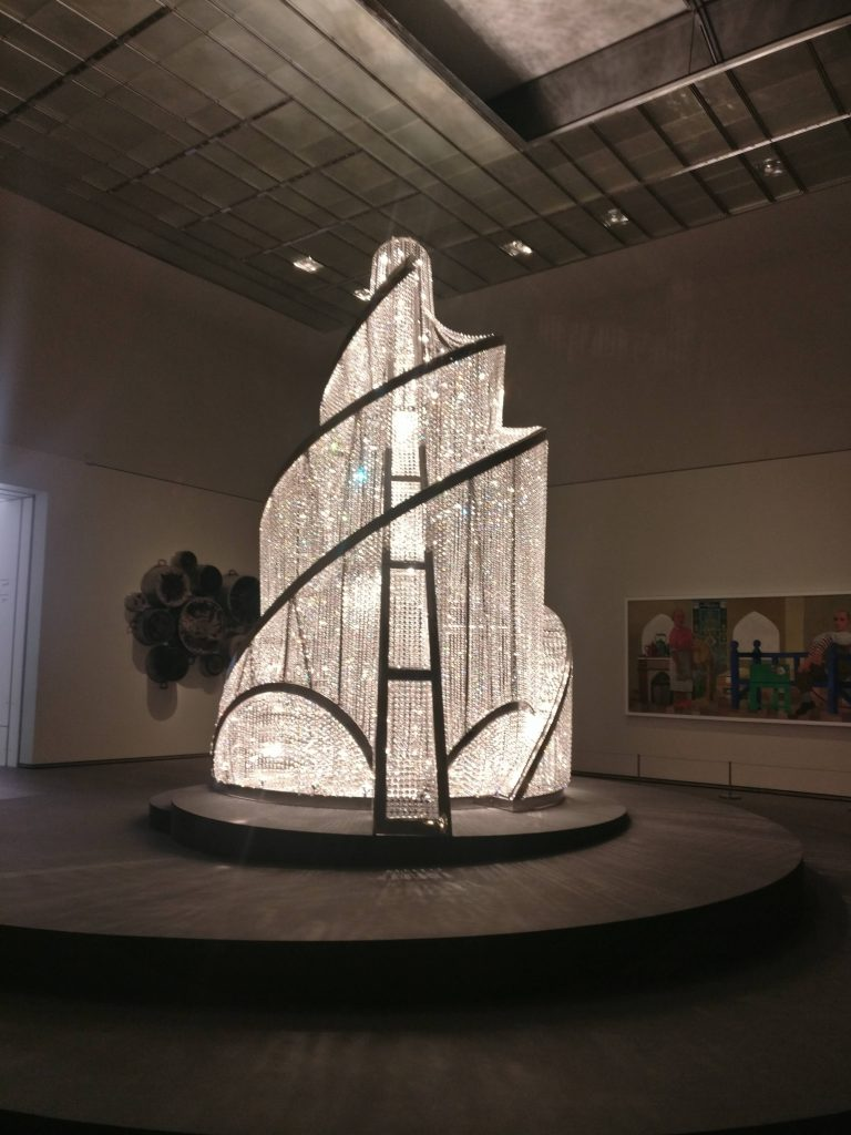 Ai Weiwei Sculpture - Louvre Abu Dhabi.