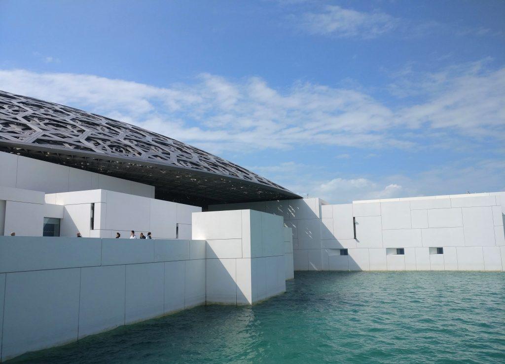 Louvre Abu Dhabi outside