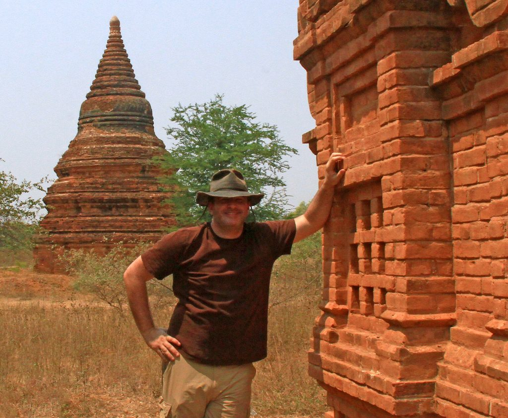 Colin Johnson in  Myanmar