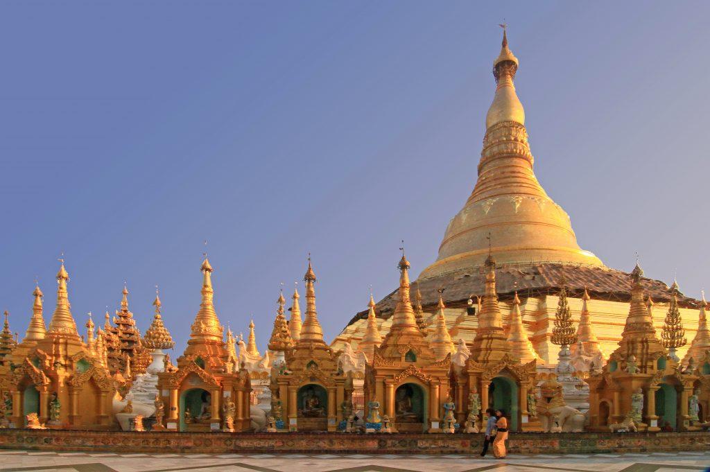 Myanmar - Shwedagon Pagoda in Yangon