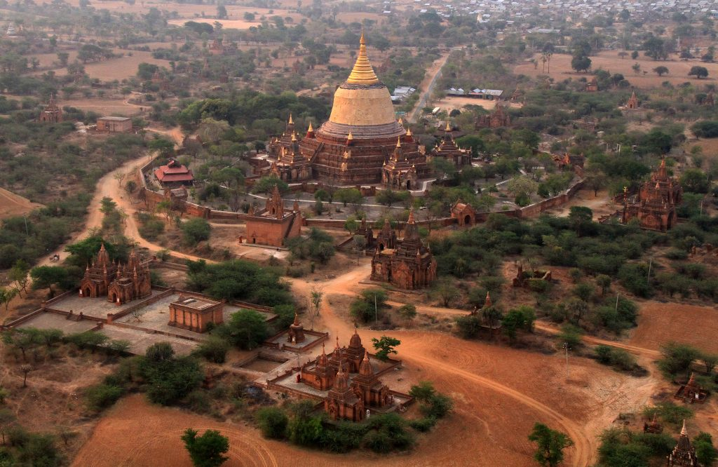 Magnificent Temples in Bagan  Myanmar