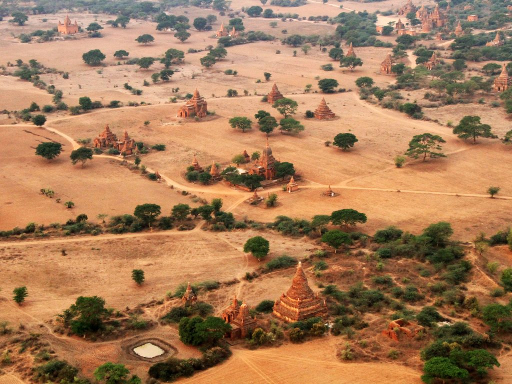 Myanmar - Bagan valley.