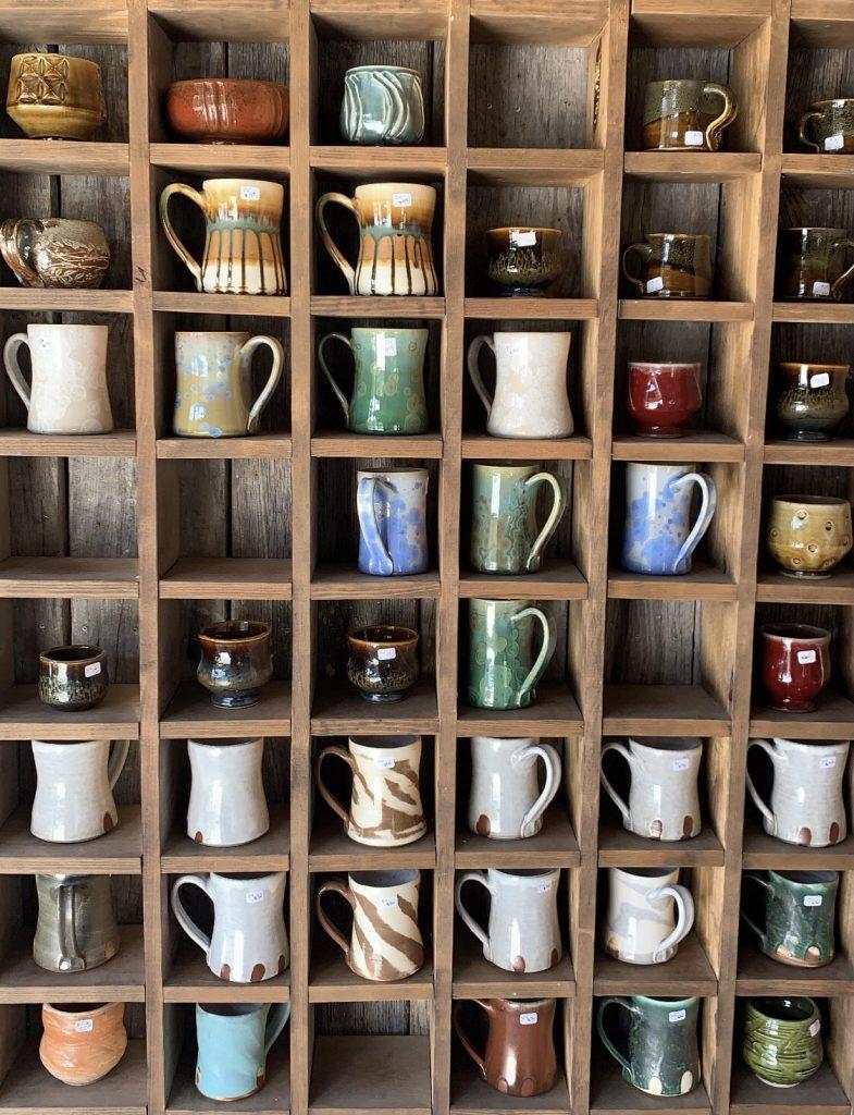 Amazing craft mugs wall