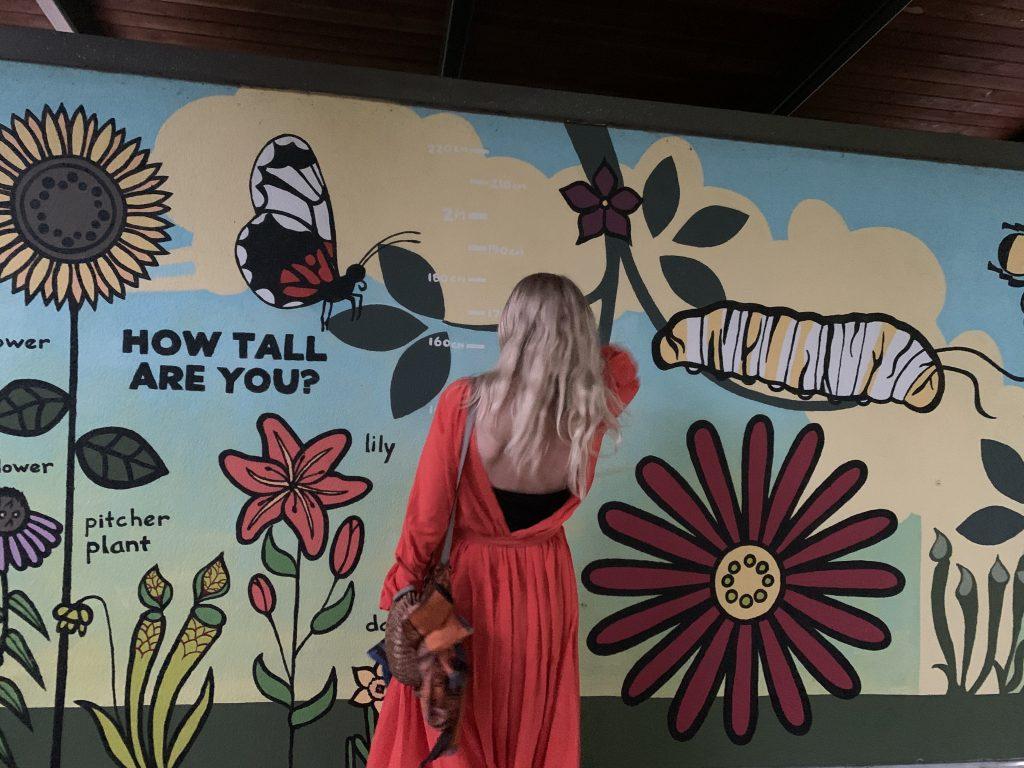 Wall art at Atlanta Botanical Garden