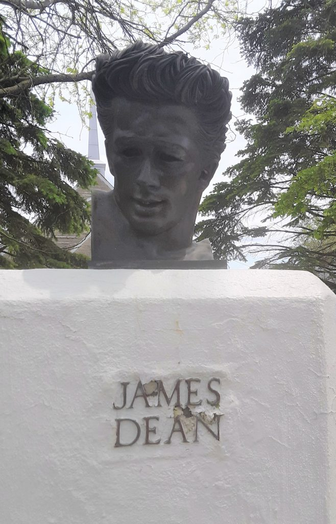 James Dean bust