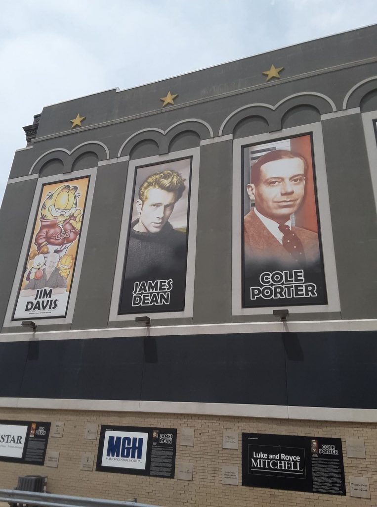 Jim Davis, James Dean, and Cole Porter in Indiana