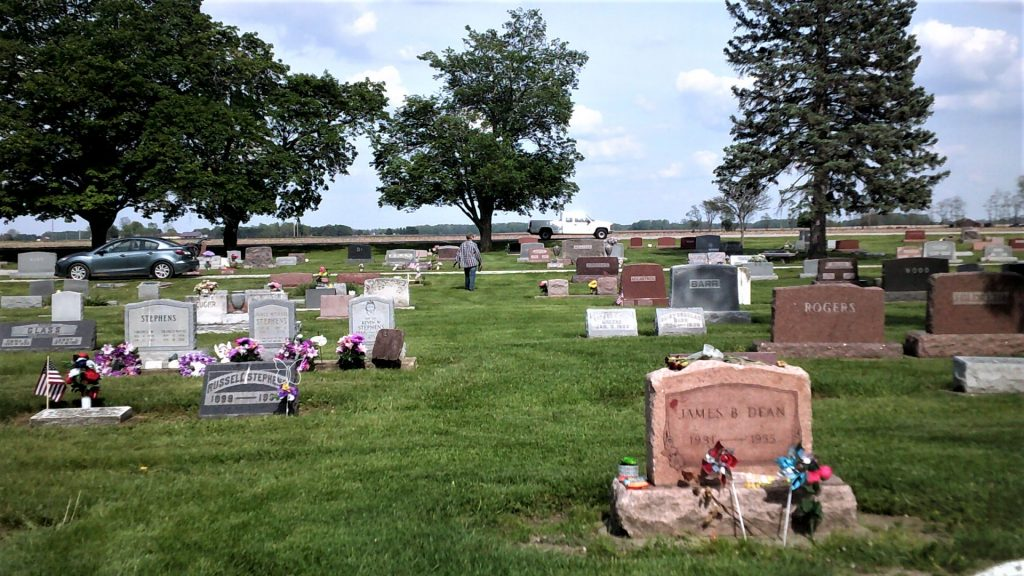 James Dean gravesite in Indiana