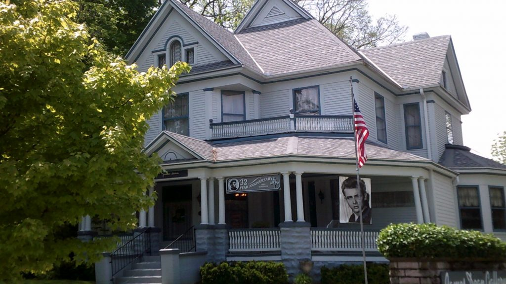 Victorian style home of David Loehr in Fairmount Indiana