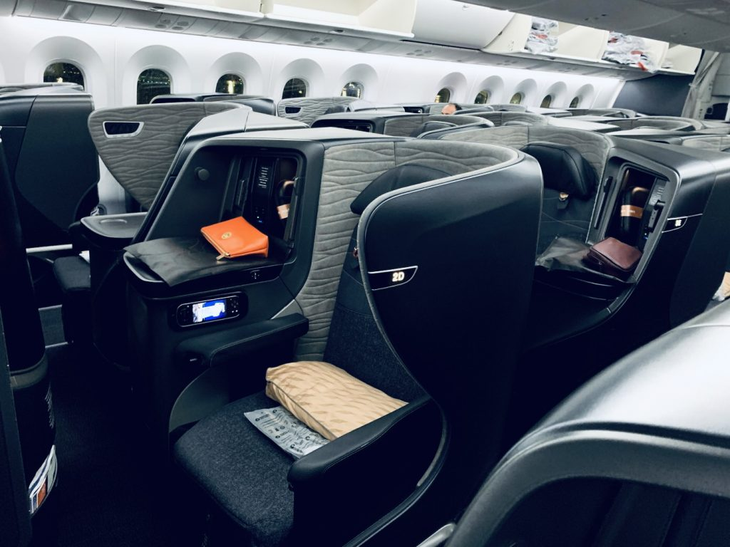 Inside Turkish airlines airplanes